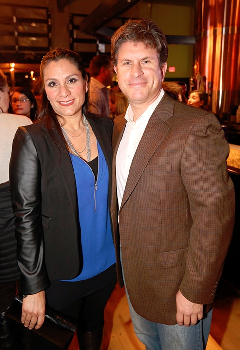 Zaira y Jorge Ahuage