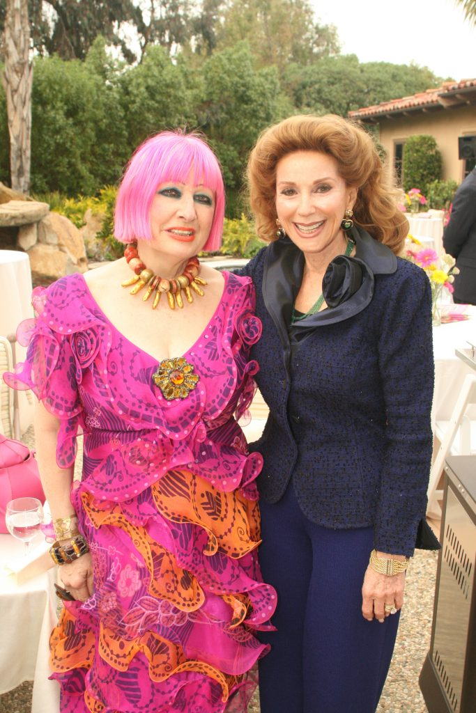 Zandra Rhodes and Reena Horowitz.JPG