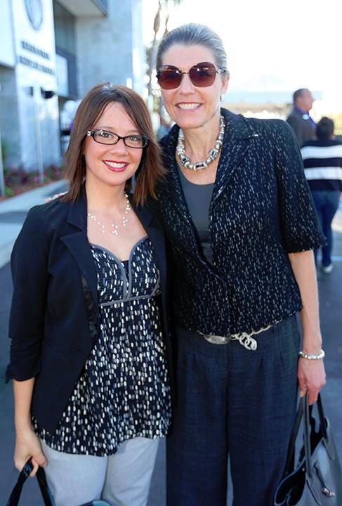 Zaneta Encarnacion and Jacqueline Silverman