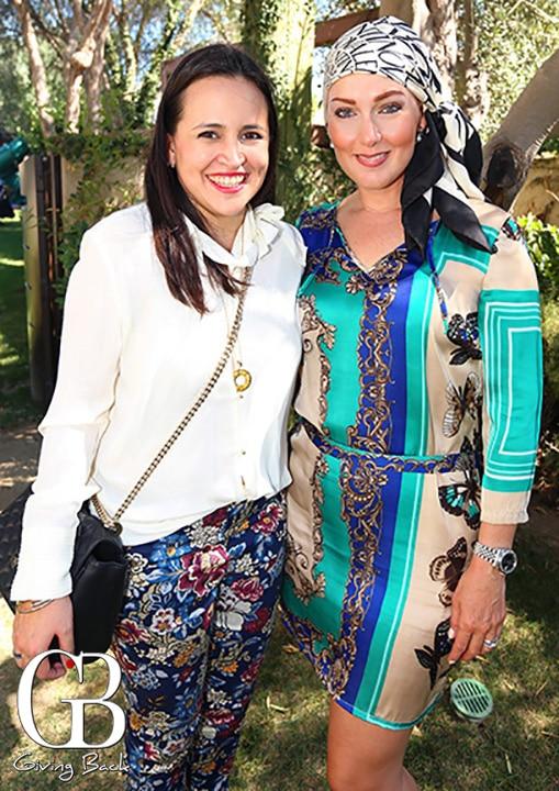 Zarella Rubio y Carla Contreras