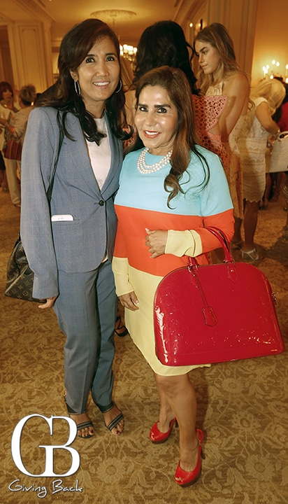 Zenaida Fimbres and Luz Elena Gomez