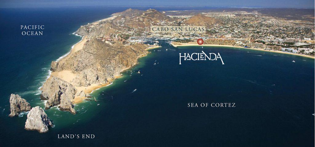 hacienda aerial view