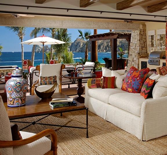 hacienda  beachfront villa