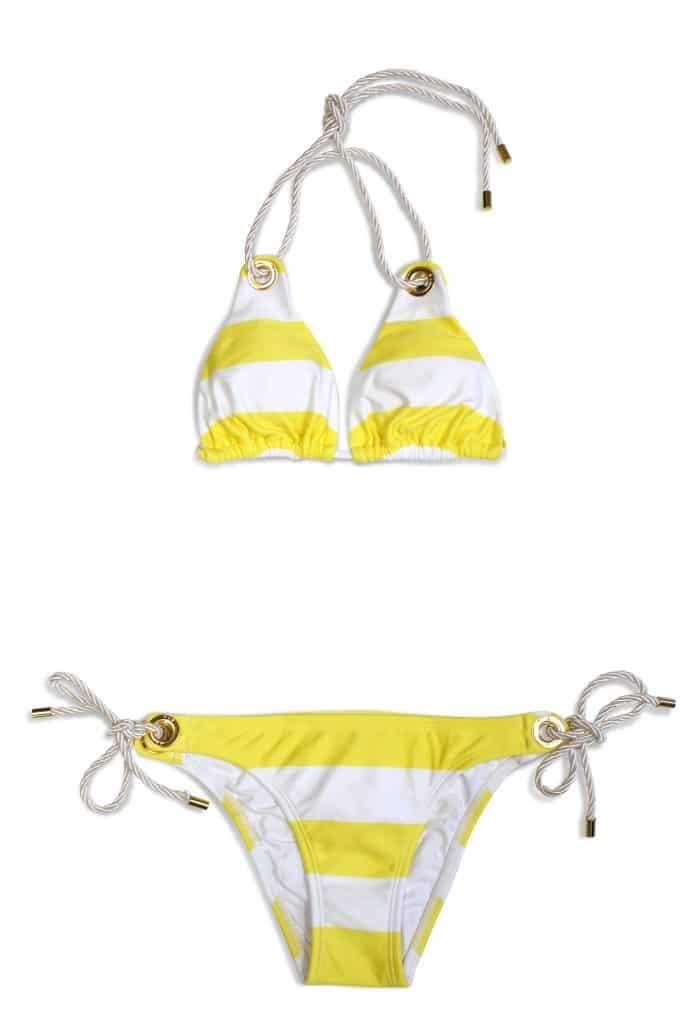 vix swimwear ana long tri  ana tie side
