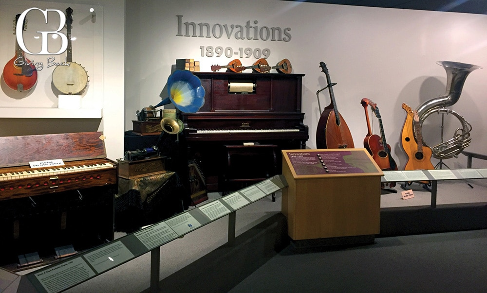 The Museum of Making Music <br> Music to Your Ears and Eyes