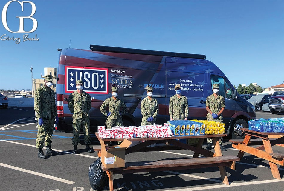 USO San Diego Supporting Those Protecting Us