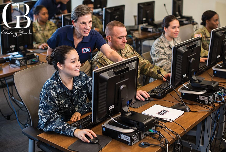 USO San Diego<br>Transitioning Military out of the service