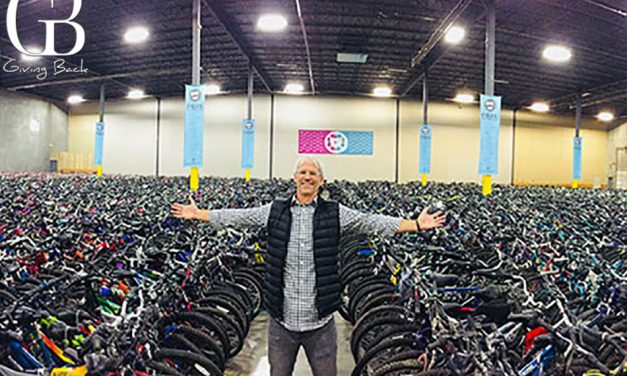 10 Things About Terry Esau & <br>Free Bikes 4 Kidz
